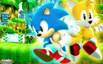 Classic Sonic And Classic Tails Wallpaper