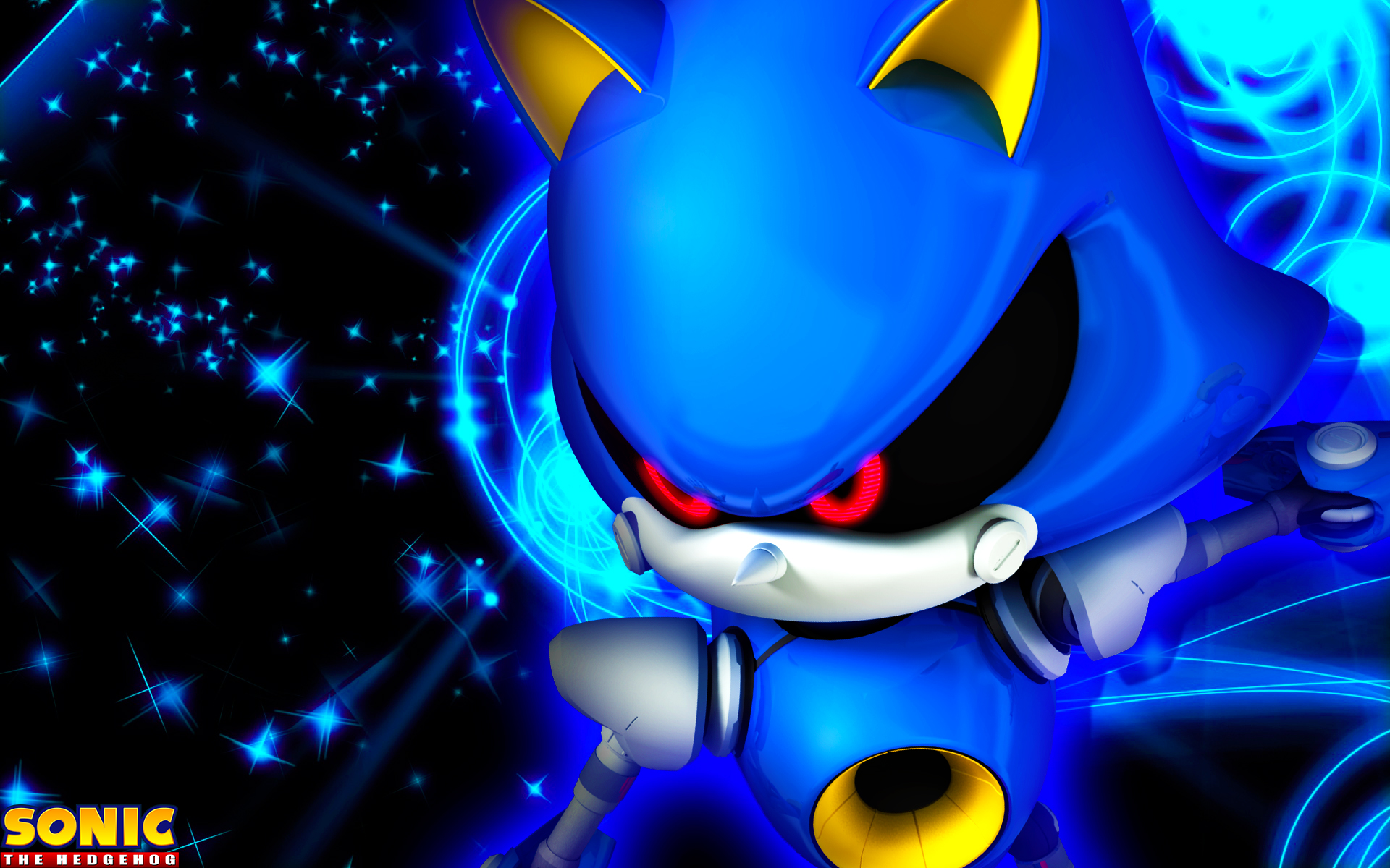 Metal Sonic Wallpaper By Sonicthehedgehogbg On Deviantart