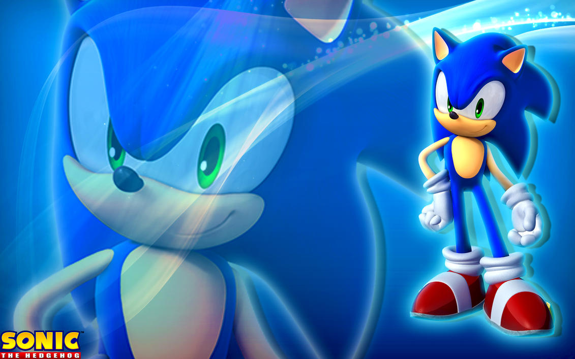 Sonic The Hedgehog Wallpaper by SonicTheHedgehogBG