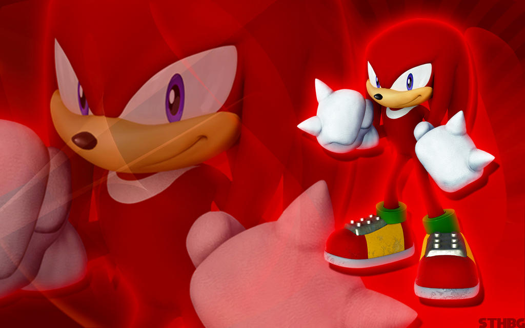 Knuckles The Echidna Wallpaper by SonicTheHedgehogBG