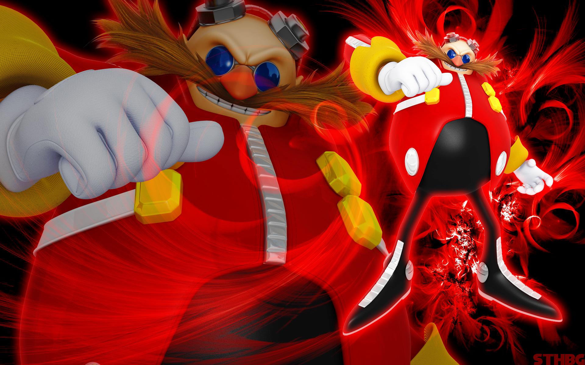Dr.Eggman Wallpaper by SonicTheHedgehogBG