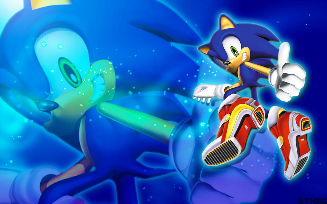 Sonic Adventure 2 Sonic Wallpaper by SonicTheHedgehogBG