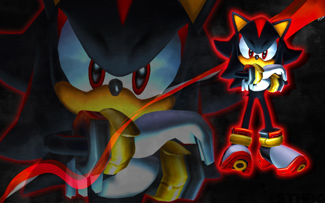 Gambar Kartun Sonic Knuckles: Sonic Adventure 2 Shadow Wallpaper By SonicTheHedgehogBG
