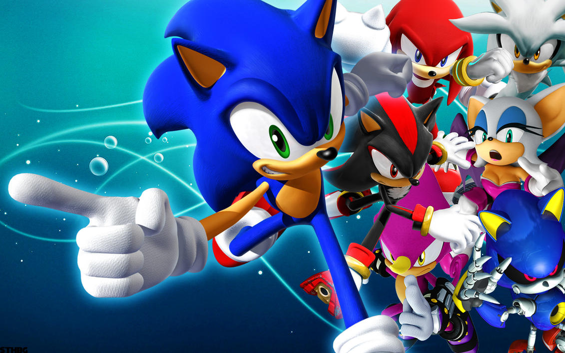 Sonic Rivals Wallpaper by SonicTheHedgehogBG
