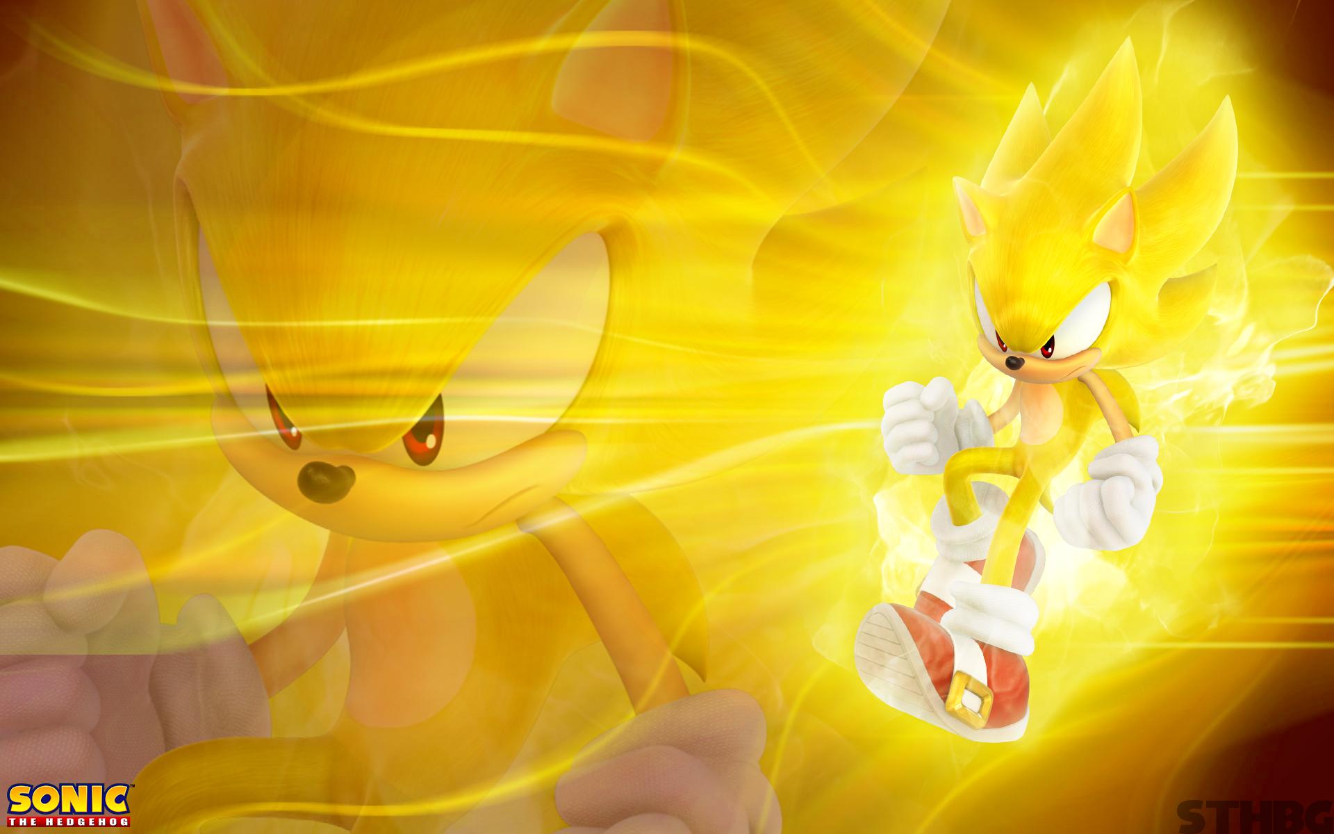 Super Sonic Wallpaper By Sonicthehedgehogbg On Deviantart