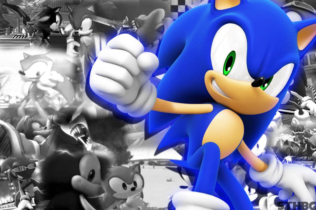 Sonic The Hedgehog Memories Wallpaper by SonicTheHedgehogBG