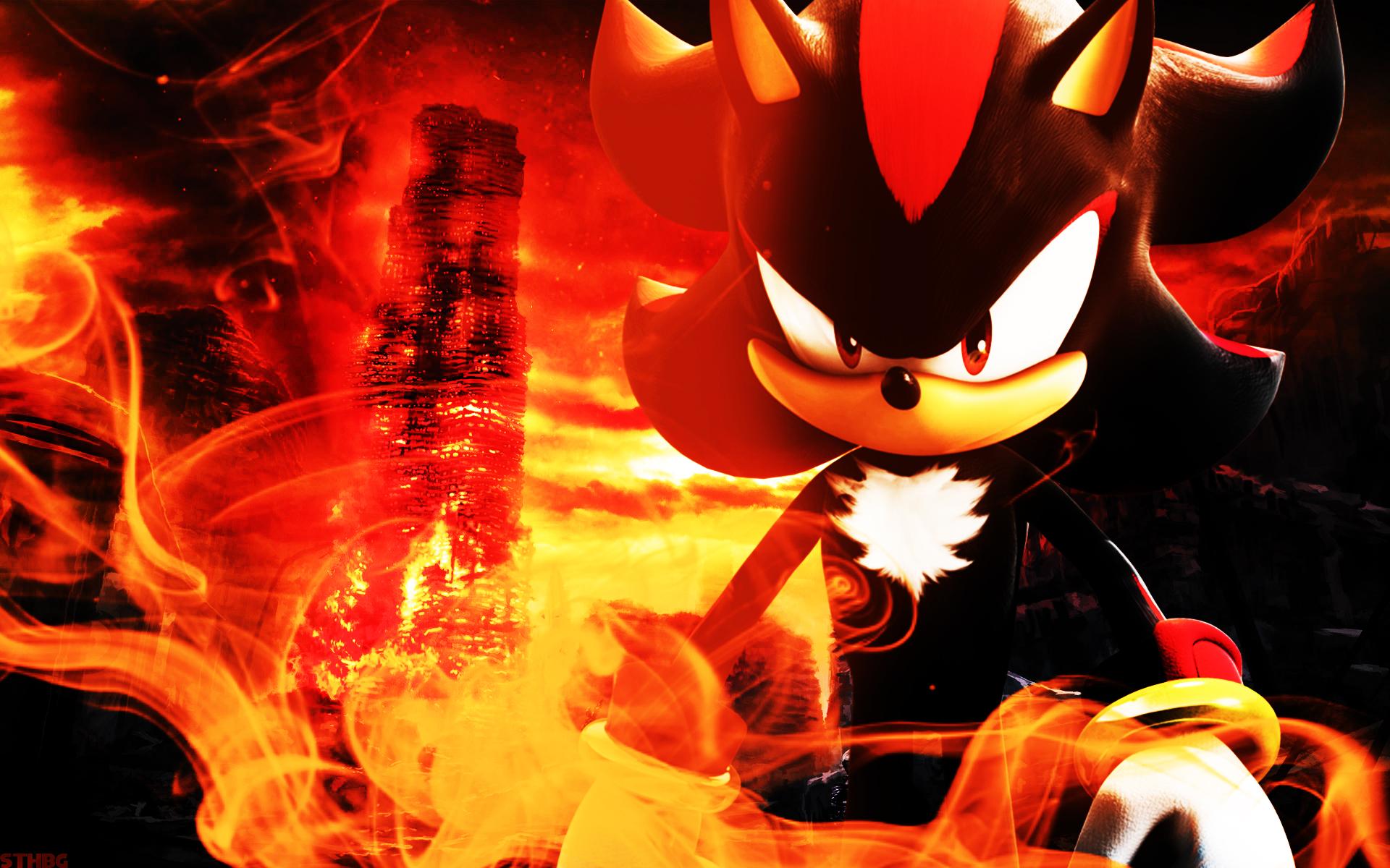 Shadow The Hedgehog Wallpaper By Sonicthehedgehogbg On