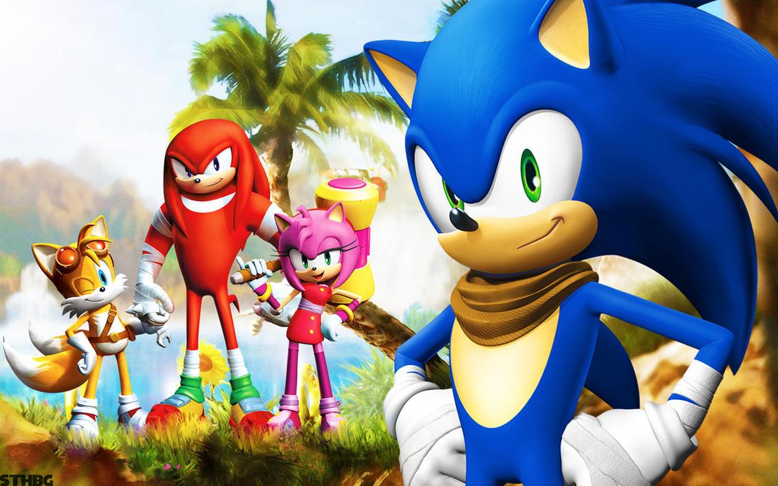 Sonic Boom - Wallpaper by SonicTheHedgehogBG