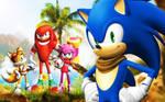 Sonic Boom - Wallpaper