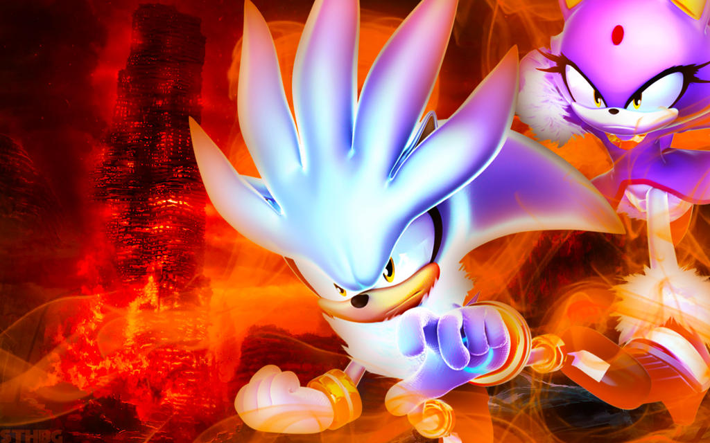 Silver The Hedgehog Desktop Wallpaper Collection 13