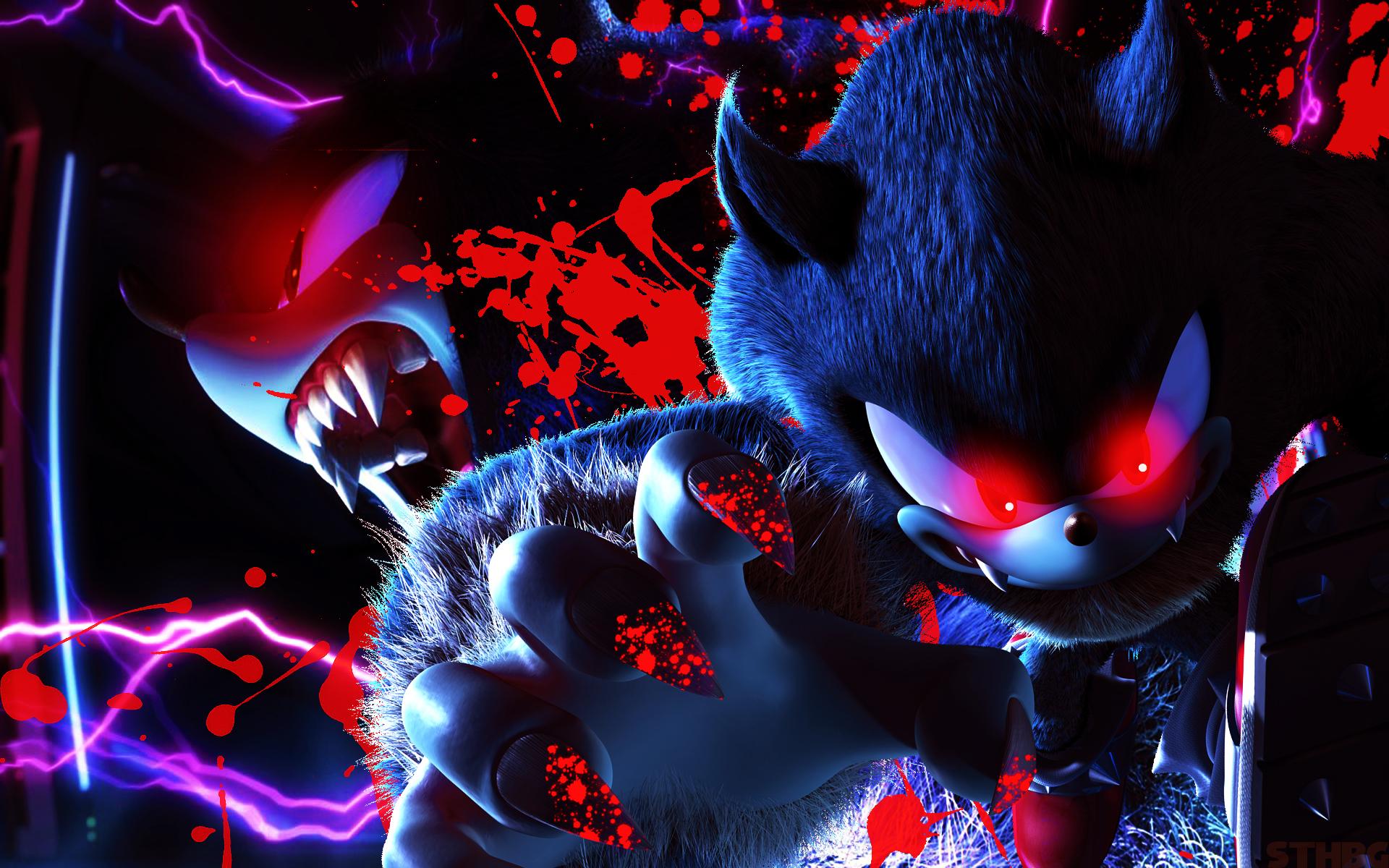 SonicTheHedgehogBG Dark Sonic The Werehog