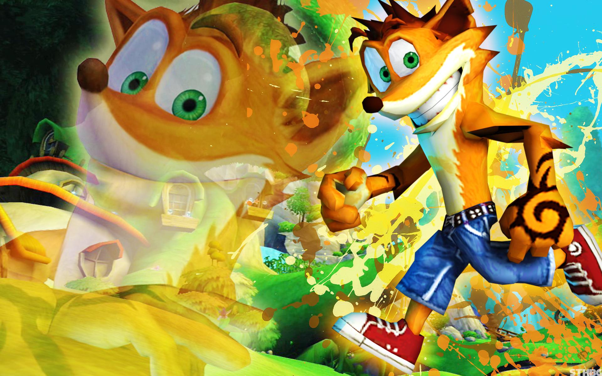Crash Bandicoot - Wallpaper by SonicTheHedgehogBG on ...