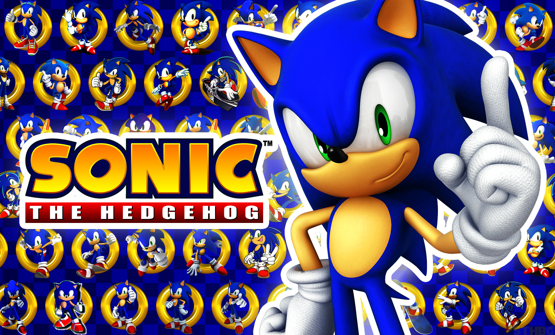 sonic the hedgehog wallpaper by sonicthehedgehogbg on