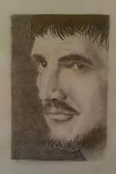 Game Of Thrones - Oberyn Martell - Pencil Drawing by SonicTheHedgehogBG