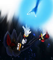 Shadow The Hedgehog - Falling For You - Drawing