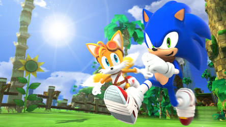Sonic Boom - Sonic And Tails - Wallpaper by SonicTheHedgehogBG