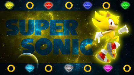 Super Sonic The Hedgehog - Wallpaper by SonicTheHedgehogBG