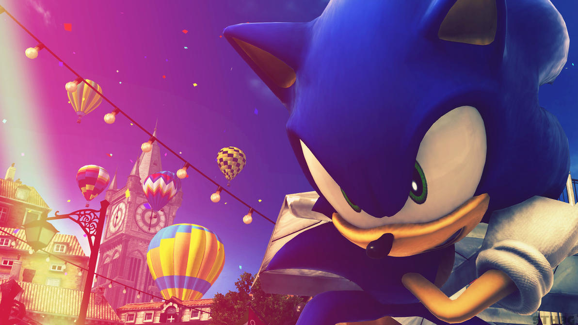 Sonic The Hedgehog - Wallpaper by SonicTheHedgehogBG on ...