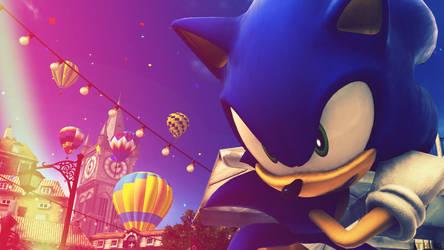 Sonic The Hedgehog - Wallpaper