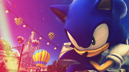 Sonic The Hedgehog - Wallpaper by SonicTheHedgehogBG