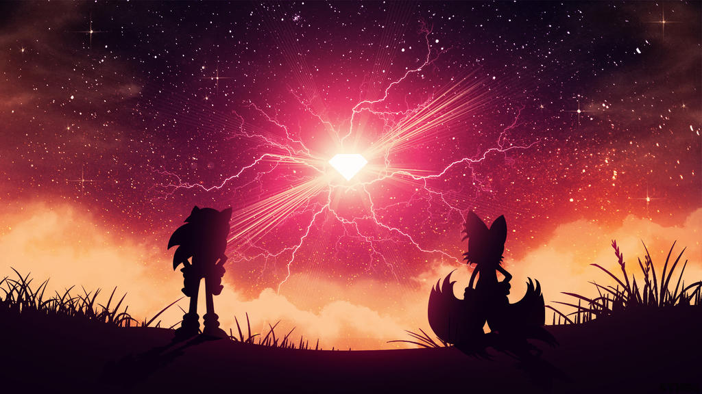 Sonic And Tails Emerald Hunters - Wallpaper
