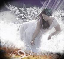 Luscious Guardian Angel by Naudee