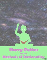 hpmor - cover art by Tassillow
