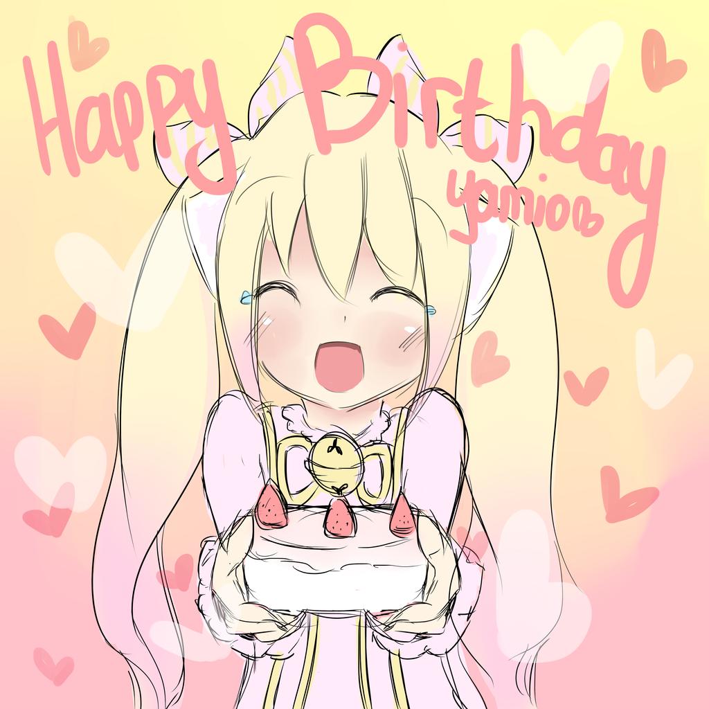 HAPPY BIRTHDAY YAMIO!!! (^w^) by BZSarahHime on DeviantArt