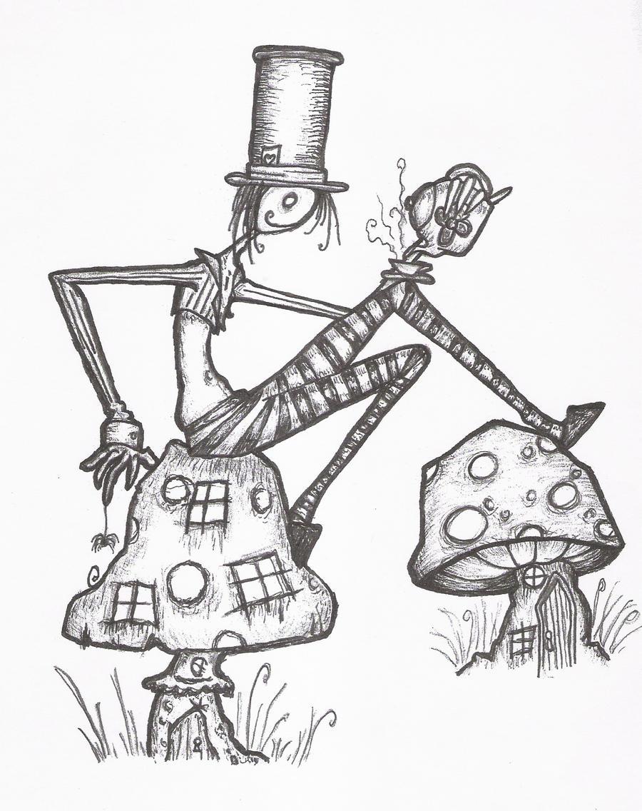 easy creepy pencil drawings - photo #10
