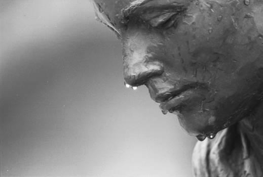 Statue After Rain