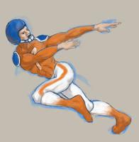 Sir Bronco Quick Sketch by tadamson