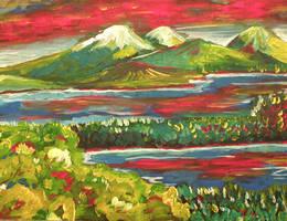 Fauve Landscape by tadamson