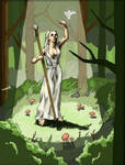 Woman of the Woods - mock up