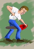 Chainsaw Man by tadamson