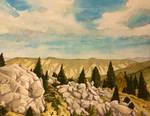 Rocky Hillside - Yellowstone