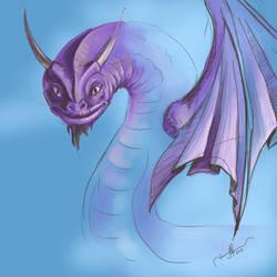 Sky Serpent by tadamson