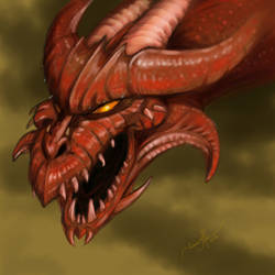 Red Dragon by tadamson
