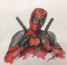 Deadpool Fanart by tadamson