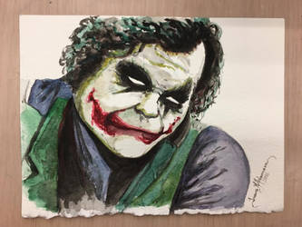 Joker Fanart by tadamson