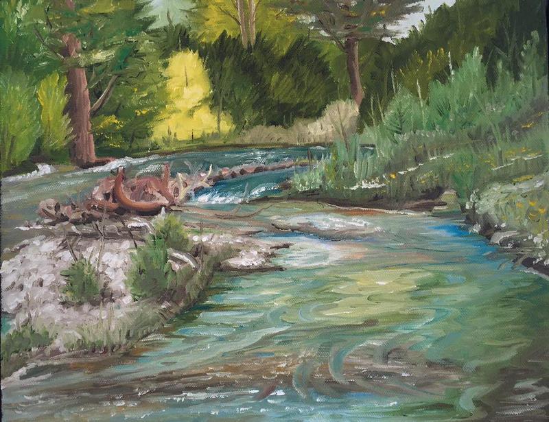 Provo River by tadamson