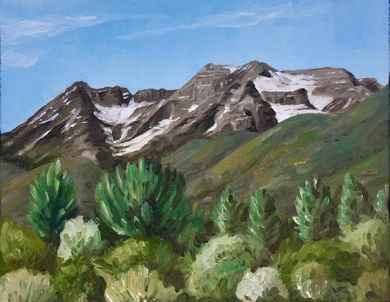 Mount Timpanogos by tadamson