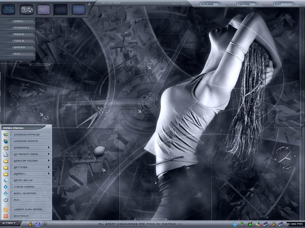 My new dektop by aarora