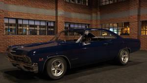 1965 Impala SS by scifigiant
