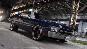 Midnight Blue Chevelle