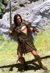 Golden Warrior by scifigiant