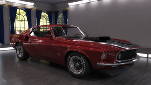 1969 Mustang Boss 429 by scifigiant