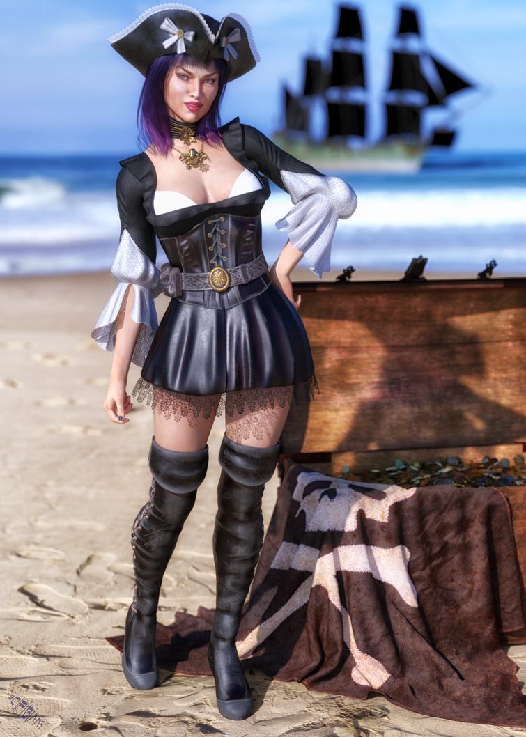 Pirate Treasure by scifigiant