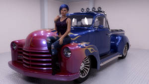 Hot Rod Truck by scifigiant