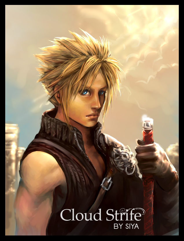 Cloud Strife by kamillyonsiya