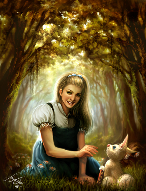 Follow that Rabbit by kamillyonsiya